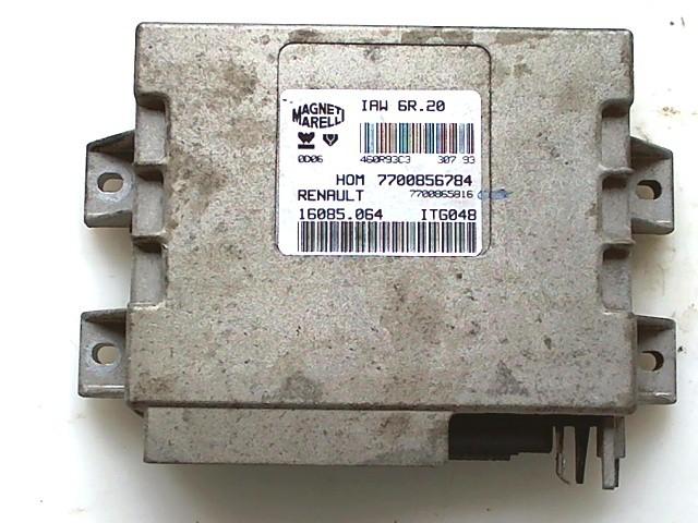 Bei diesem Steuergerät handelt es sich um ein altes Steuergerät vom Jahre 1995. Dieses ist meist in alten Renault Twingos verbaut.