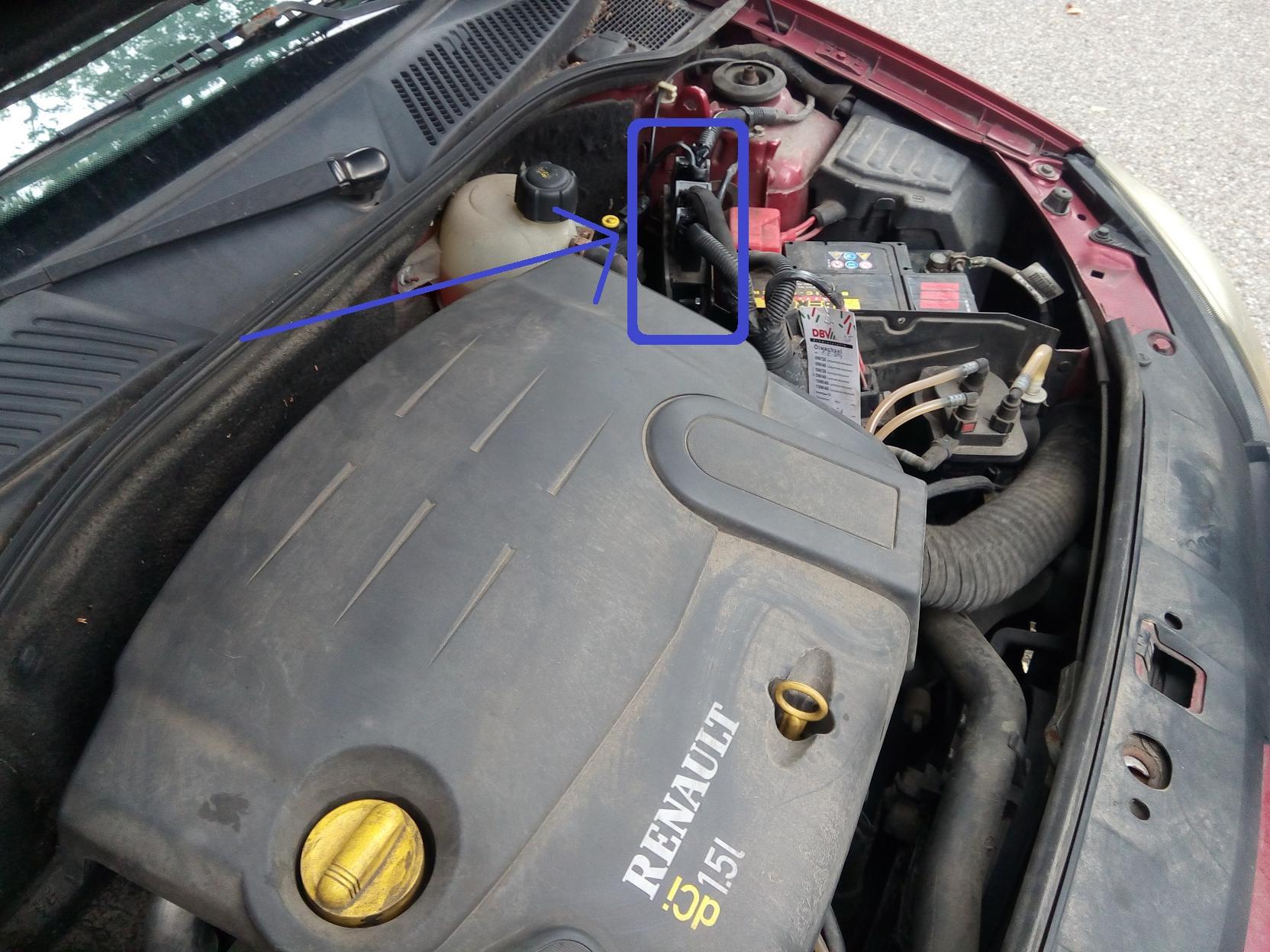 Renault Clio Motorsteuergerät 1,5 Dci