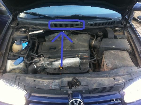 VW Golf 4 Motorsteuergerät